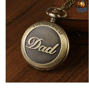 Vintage Dad Pocket Watch