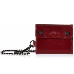 Levi's Dull Red Card Case (Arch Logo Card Case/Keychain)