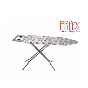 PAffy Foldable Ironing Board/IroningTable with Iron Holder - Grey