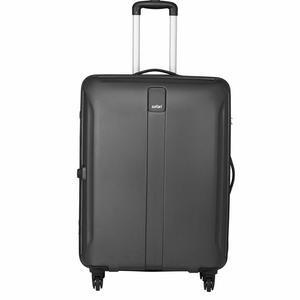 Safari Thorium Sharp Antiscratch 66 Cms Polycarbonate Black Check-In 4 wheels Hard Suitcase - 26 Inch