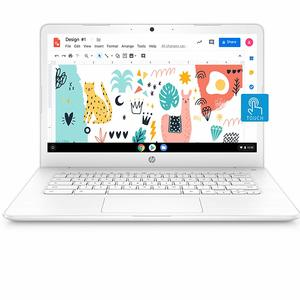 HP Chromebook 14-Inch Thin and Light Touchscreen Laptop with 180-degree Hinge