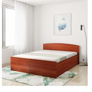 Amazon Brand - Solimo Optima Manual Box Storage Queen Bed (Sienna Cherry)