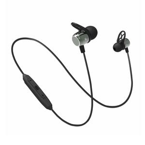 pTron Intunes Evo Magnetic in-Ear Wireless Bluetooth Headphones with Mic - (Grey and Black)