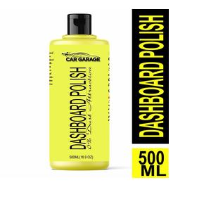 Car Garage Dashboard Polish -500ML / Liquid/For all Car & Bikes/Rrich shine & long lasting/UV protection formula/Easy to use/No harmful chemicals