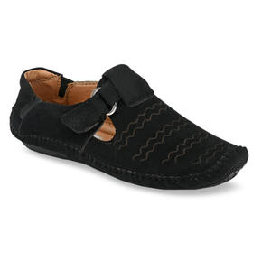 Big Fox Men Black Fisherman Sandals
