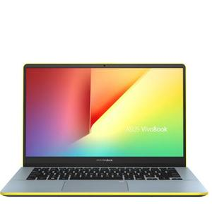 Asus VivoBook S Series Core i5 8th Gen - (8 GB/1 TB HDD/256 GB SSD/Windows 10 Home) S430FA-EB031T Thin and Light Laptop  (14 inch, Silver Blue -Yellow, 1.40 kg)#JustHere