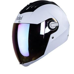 Steelbird Air SBA-2 Dashing White with Silver Visor,600 mm