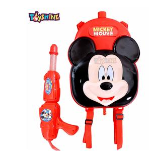 Toyshine Holi Water Gun with High Pressure, Back Holding Tank, 3.0 L, Mickey Red