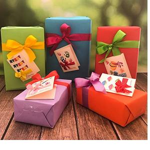 Crack of Dawn Crafts Happy Holi Gift Tags Pack of 5