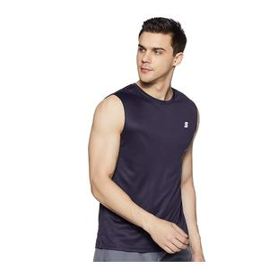 Amazon Brand - Symactive Men's Solid Regular Fit Sleeveless Sports T-Shirt