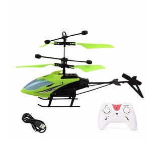 X-ZINI Induction Type 2-in-1 Flying Indoor Helicopter with Remote for Kids (Multi-Color)