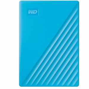 Western Digital 4TB My Passport Portable External Hard Drive, Blue - with Automatic Backup, 256Bit AES Hardware Encryption & Software Protection
