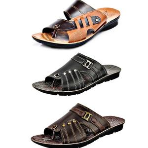Calcados By Slippers  Men Multicolor Flats Sandal