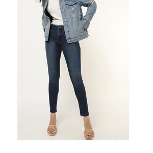 DNMX Lightly Washed High-Rise Skinny Jeans