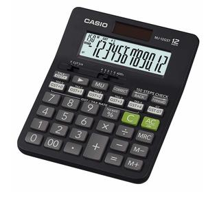 Casio MJ-12GST GST Calculator (Black)