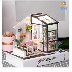 DIY Miniature House - Balcony Daydreaming