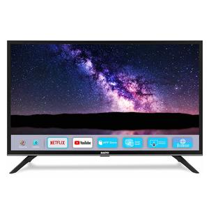 Sanyo 80 cm (32 inches) Nebula Series HD Ready Smart IPS LED TV XT-32A081H (Black) (2019 Model)