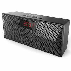 SoundBot SB1023 Bluetooth Speaker with FM Radio & Alarm Clock