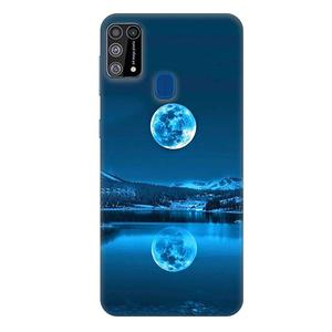 Casotec Awesome Moon Design 3D Printed Hard Back Case Cover for Samsung Galaxy M31