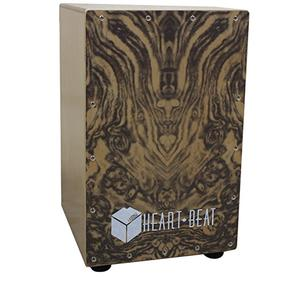 Kadence Heartbeat Cajon - Wood Finish H:46 B:30 L:30
