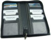 Essart Travel Document Holder(Black)