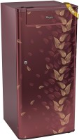 Whirlpool 190 L Direct Cool Single Door 3 Star Refrigerator(Wine Fiesta, 205 GENIUS CLS 3S)