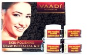 Vaadi Herbals Skin-Polishing Diamond Facial Kit 70 g(Set of 4)