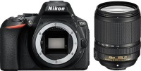 Nikon D5600 DSLR Camera Body with Single Lens: AF-S DX Nikkor 18 - 140 MM F/3.5-5.6G ED VR (16 GB SD Card)(Black)