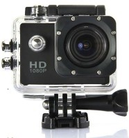 Shrih Full HD 1080P Sports DV Action Waterproof Camera Sports & Action Camera(Black)