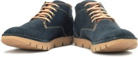 tZaro Blu Soled Boots For Men(Tan, Navy)