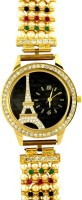 Exxotic Jewelz F-216533- Eiffel Tower Design Analog Watch  - For Women