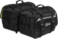 rynox gears Drystack Saddlebags - Stormproof Waterproof Multipurpose Bag(Black, 60 L)
