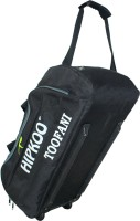 Hipkoo Sports High Quality Toofani Wheeler Bag (Both Side Pockets) One Shoe Compartment Trolley(Black, 50 L)
