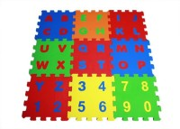 Ultimate Alpha-Numeric Puzzle Mats(45 Pieces)