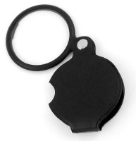Pia International Foldable 6X MAgnifying Glass(Black)