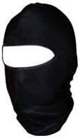 Phoenix Black Bike Face Mask for Men(Size: Free,  Balaclava)