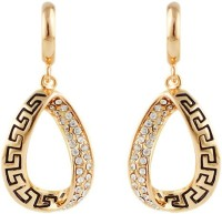 Silver Shoppee The Glitterati Cubic Zirconia Alloy Drops & Danglers