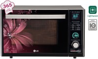 LG 32 L Charcoal Convection Microwave Oven(MJ3286BRUS, Black)