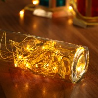 Home Delight 157 inch Yellow Rice Lights(Pack of 5)