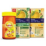 Saffola FITTIFY Gourmet Saffola Pure Honey + Green Coffee Instant Beverage Mix Pack of 2,(Combo) (250)