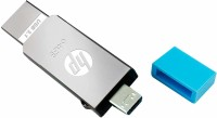 HP x302m 64 GB Pen Drive(Silver)