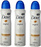 Dove ORIGINAL MOSTURISING PACK OF 3 Body Spray  -  For Men & Women(450 ml, Pack of 3)