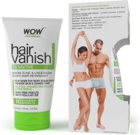 WOW Skin Science WOW Hair Vanish Sensitive - No Parabens & Mineral Oil (100mL) Cream(100 ml)