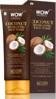 WOW Skin Science Coconut Hydrating  with Coconut Water, Aloe Leaf Extract - For Clarifying, Softening & Brightening Skin - For Dry/Normal Skin - No Parabens, Sulphate, Silicones & Color - 100mL Face Wash(100 ml)