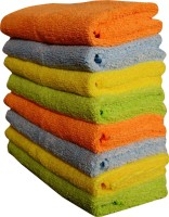 Sheen Microfiber Vehicle Washing  Cloth(Pack Of 8)