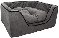 R.K Products 31 gry with black line M Pet Bed(Grey)