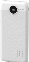 Gionee 10000 mAh Power Bank (Fast Charging, 18 W)(White, Lithium Polymer)