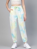 Sassafras Relaxed Women Yellow, Blue Trousers