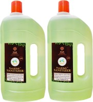Khadi Essentials Pure&Safe Instant Multi Purpose Sanitizer - 1L (Pack of 2 Bottles) Hand Sanitizer Can(2 x 1 L)