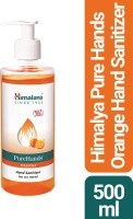 Himalaya PureHands - Orange Hand Sanitizer Bottle(0.5 L)